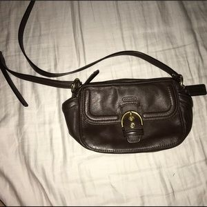 Coach- cross body purse